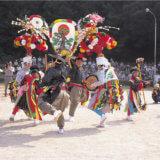 神事である「南条踊り」の練習が うちの 庭で 行われることになった 今年。